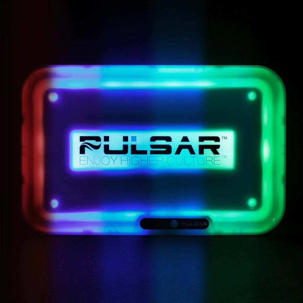 "Pulsar 11"" x 7"" Light-Up Rolling Trays"