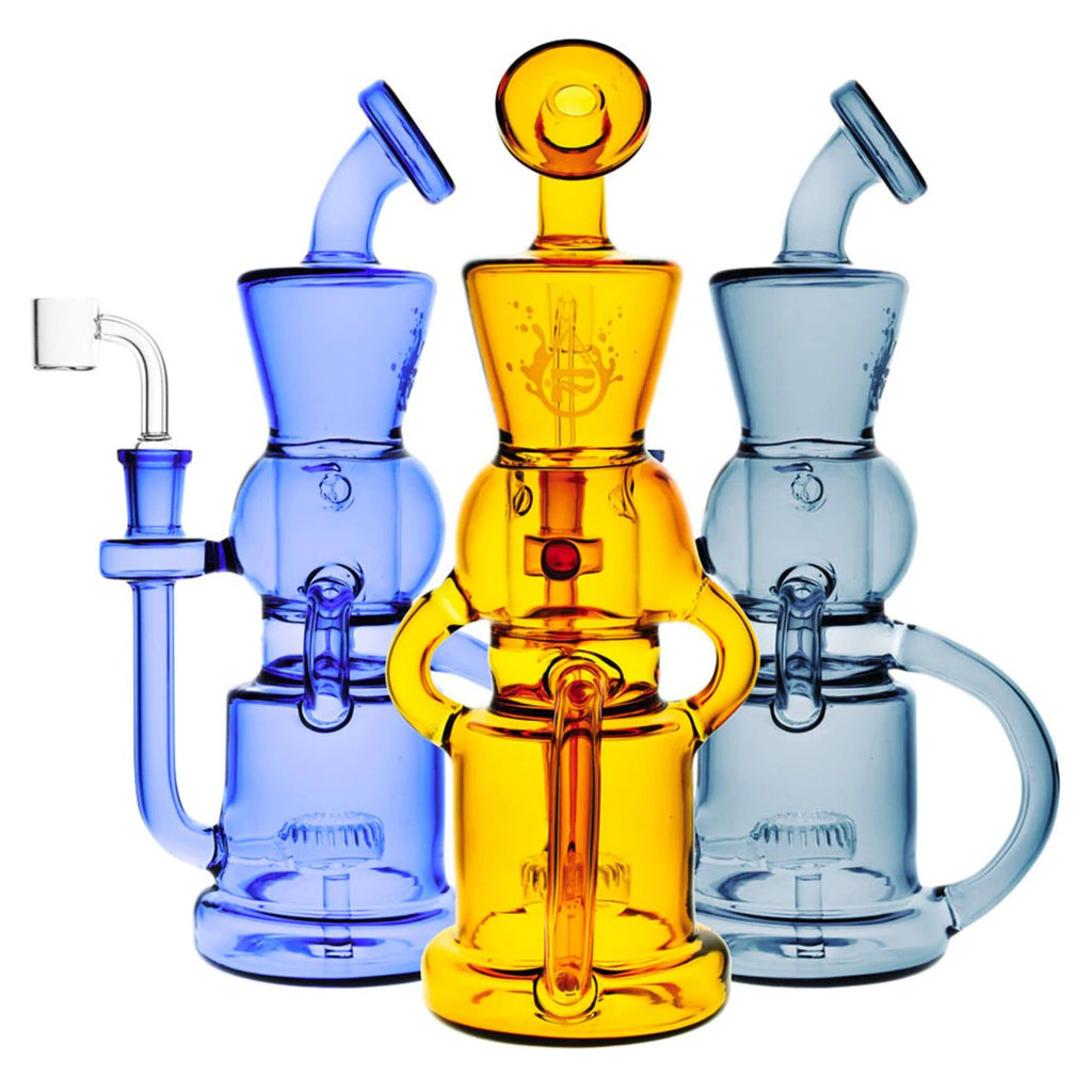 "Pulsar 10"" Checkmate Recycler Dab Rig"
