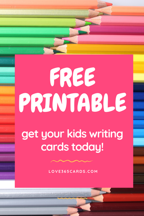 Printable Greeting Cards for Kids