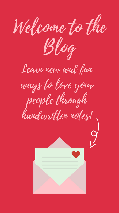 "Welcome to the blog, ""Love Is In The Mail!"""