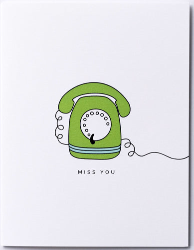 Miss You Rotary Phone