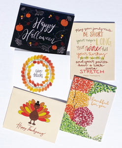 Fall Card Bundle