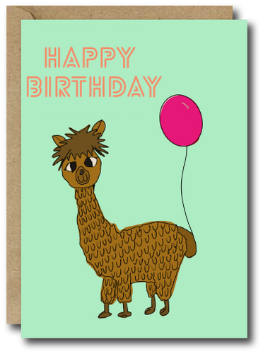 Alpaca Birthday