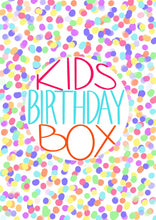 Load image into Gallery viewer, Kids Birthday Box