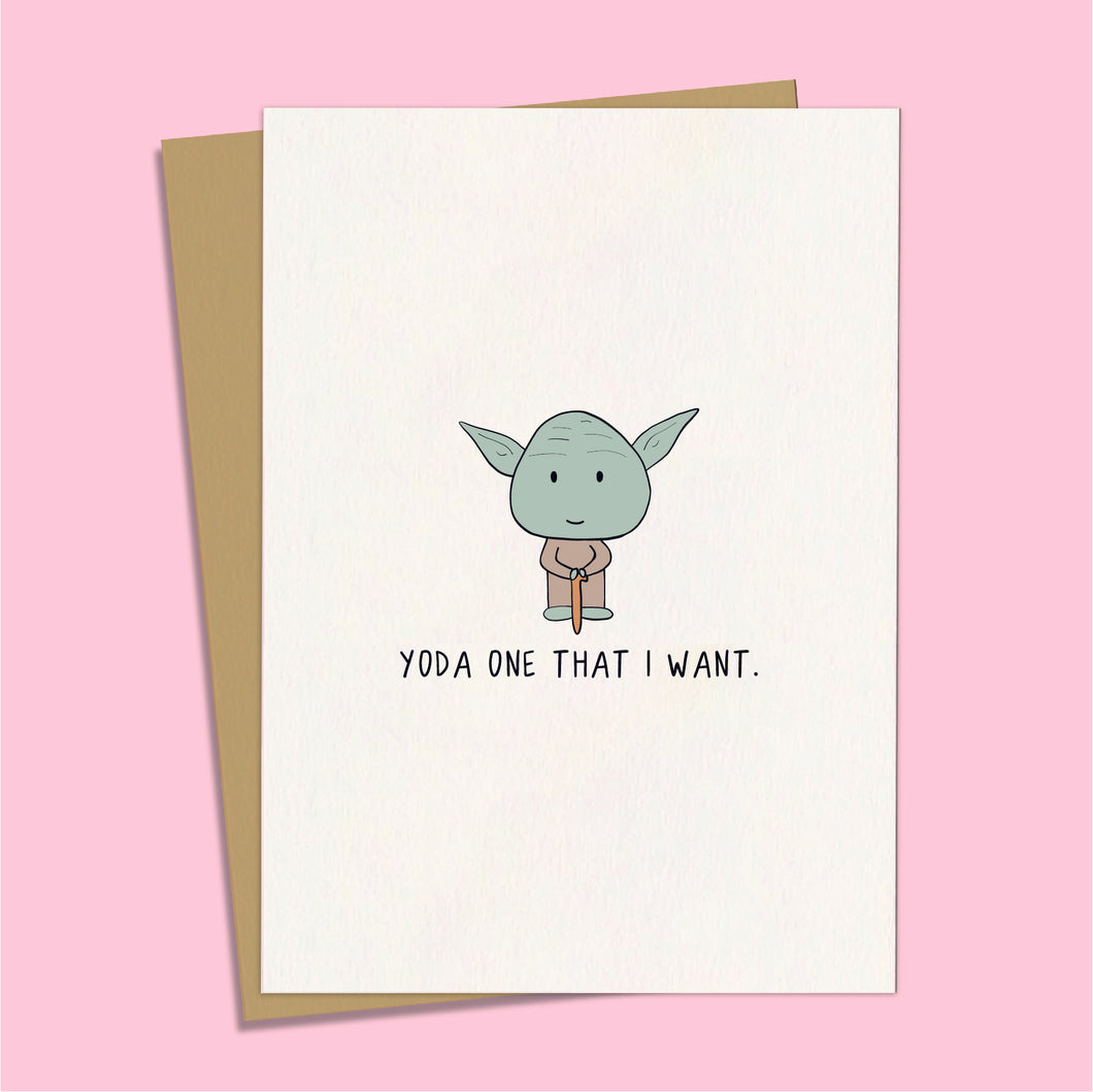 Yoda One That I  Want