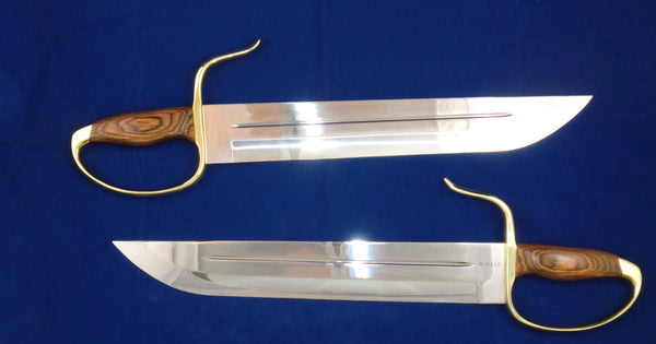 Long Stabber Butterfly Swords, Böhler 440C Blade Steel (Martial Arts Grade, Sharp) ***Last Pair***