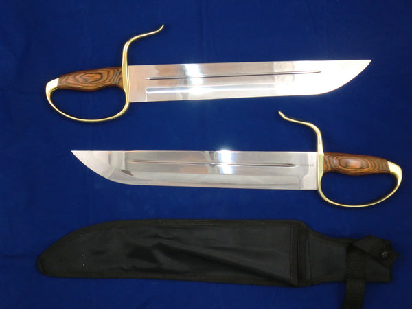 Long Stabber Butterfly Swords, Böhler 440C Blade Steel (Martial Arts Grade, Blunt)