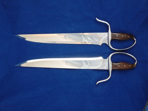 Recurve Stabber Butterfly Swords Böhler 440C Blade Steel (Collector Grade)