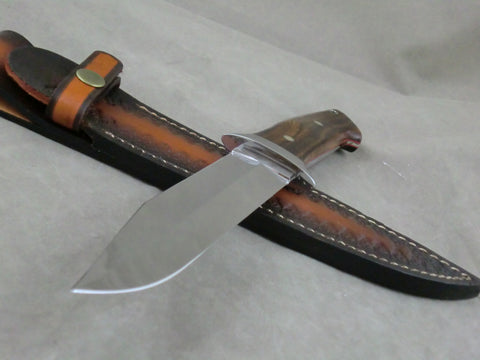 Loveless Style Dixon Fighter (Böhler-Uddehom  D2, Arizona Desert Ironwood)