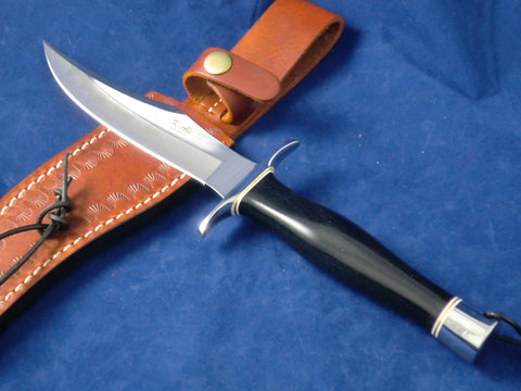 "6 1/4"" Blade AISI 9260 Hornet Handle Bowie with Hammon"
