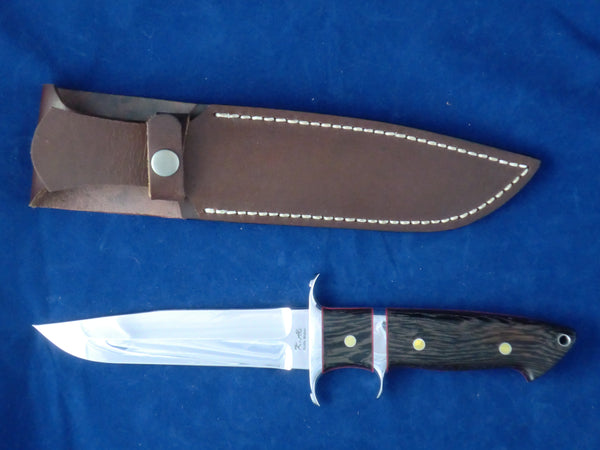 "Loveless Style 6 3/16"" Blade Big Bear Sub-Hilt Fighter (Böhler 440C, Wenge)"