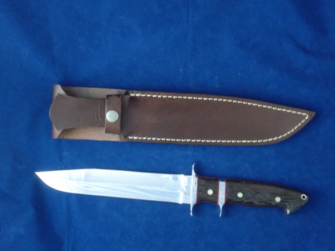 "Loveless Style 8"" Blade Big Bear Sub-Hilt Fighter (Böhler 440C, Wenge)"