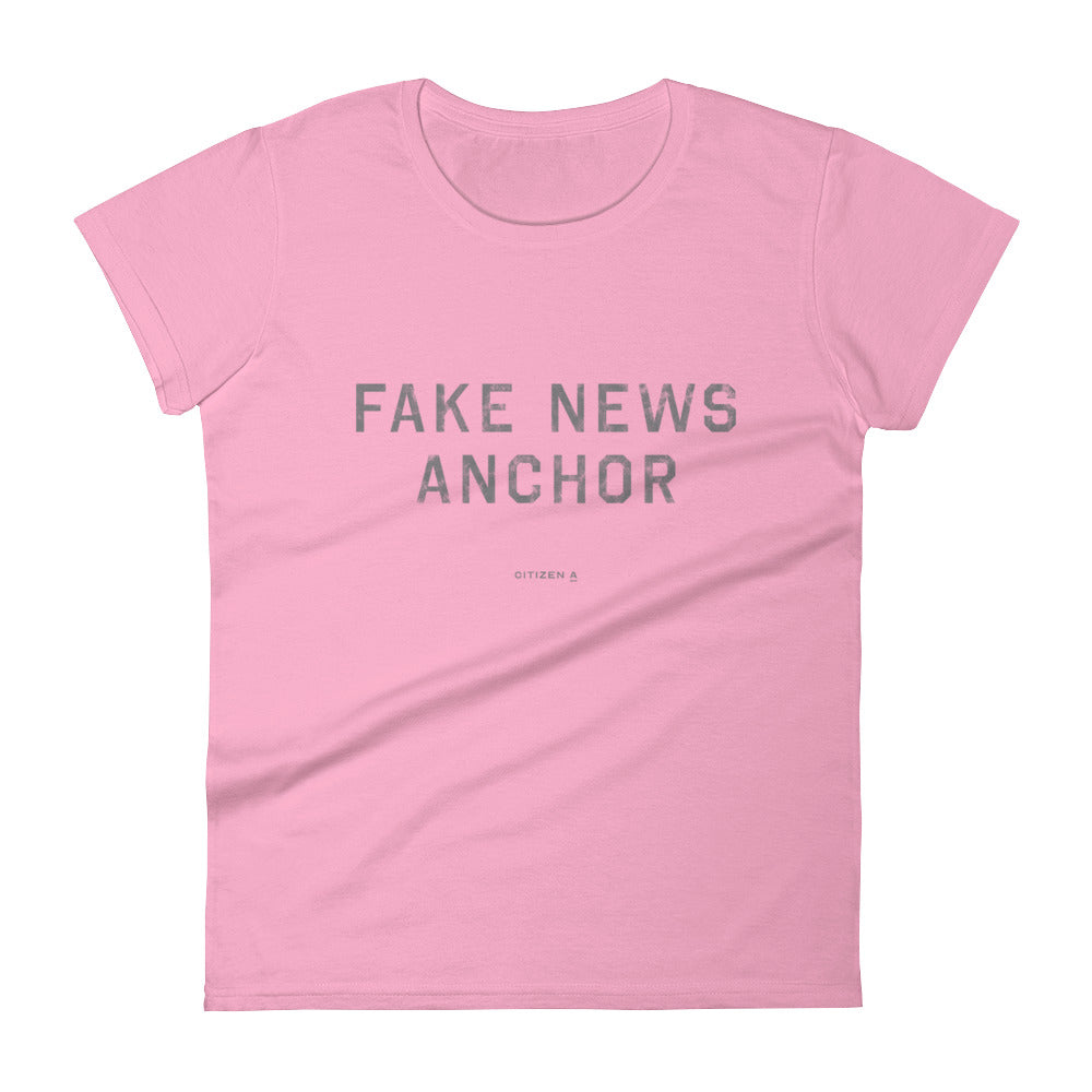 Women's Fake News Anchor™ T-Shirt