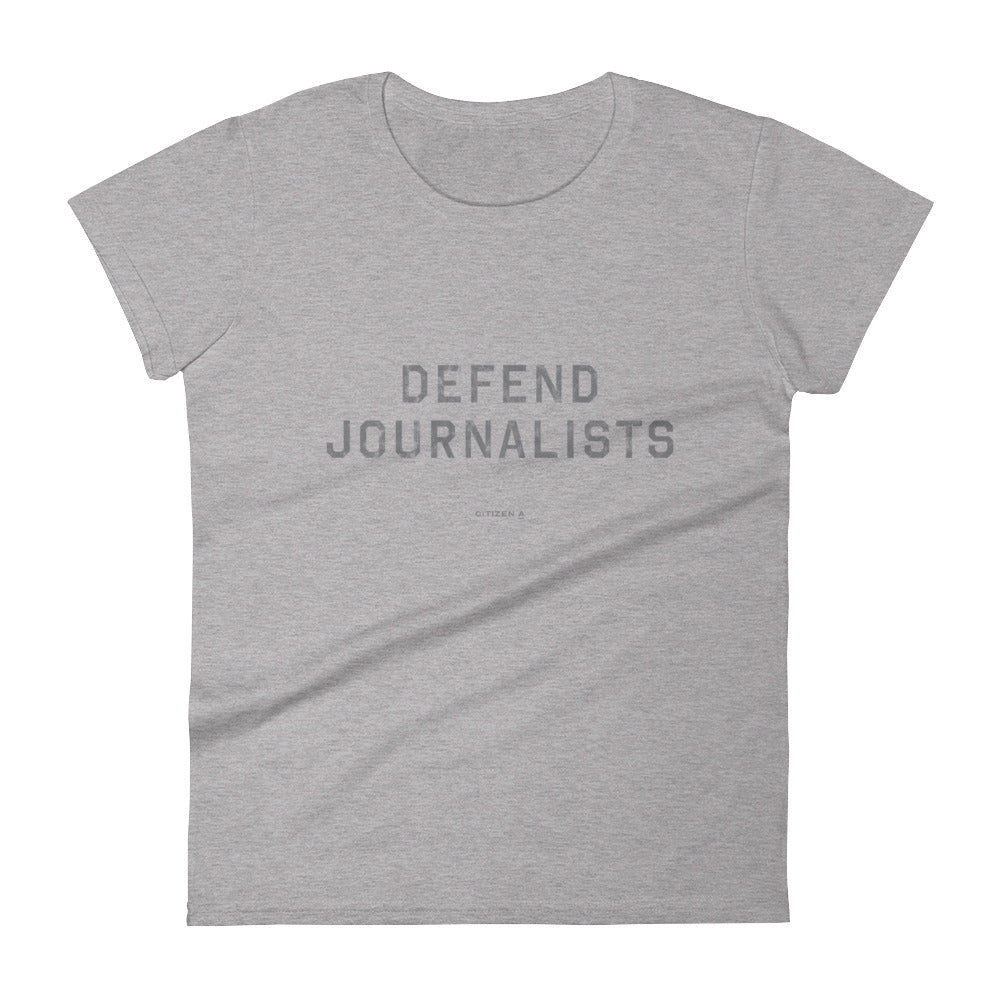 Women's Defend Journalists™ T-Shirt
