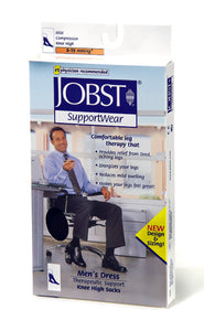 Jobst For Men 8-15mm Hg compression level (mild) Over-The-Calf Sock Small