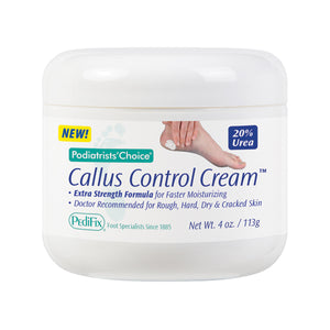 Podiatrists' Choice Callus Control Cream 4 oz.