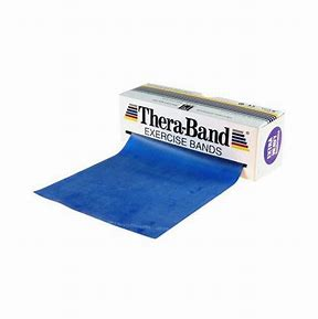 Thera-Band resistive exercise band - 6 Yard- Blue