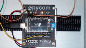 Blink-Ping: A WiPy LED blink with a simple TCP socket