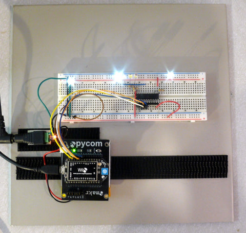 Pycom WiPy MicroPython first impressions - Chicago Electronic