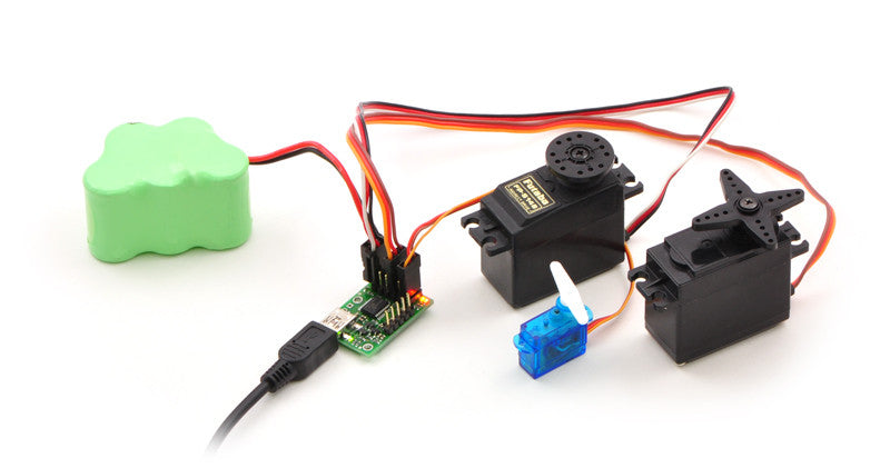 Mini Maestro 12-Channel USB Servo Controller (Assembled) - Chicago Electronic Distributors  - 20