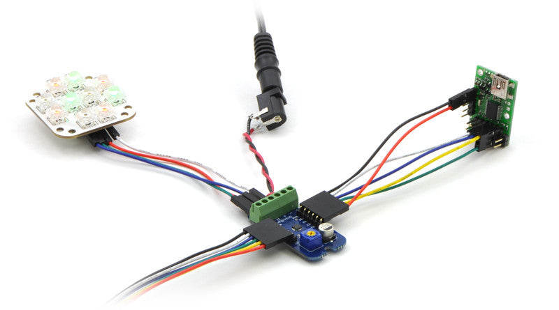Micro Maestro 6-Channel USB Servo Controller (Assembled) - Chicago Electronic Distributors  - 9