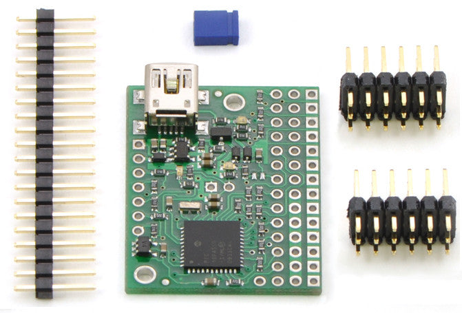Mini Maestro 12-Channel USB Servo Controller (Assembled) - Chicago Electronic Distributors  - 4
