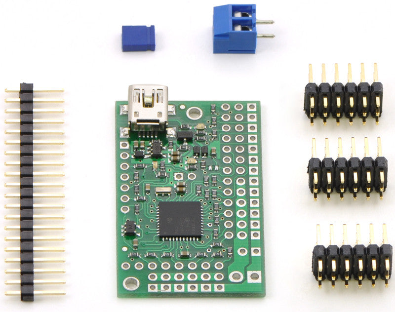 Mini Maestro 12-Channel USB Servo Controller (Assembled) - Chicago Electronic Distributors  - 9