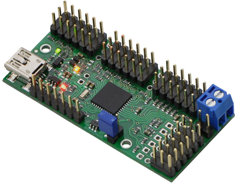 Mini Maestro 12-Channel USB Servo Controller (Assembled) - Chicago Electronic Distributors  - 13