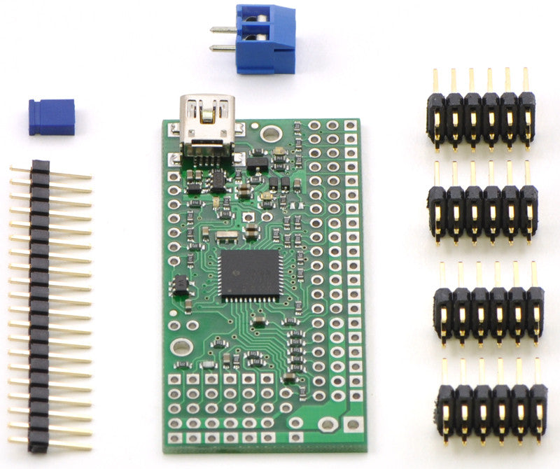 Mini Maestro 12-Channel USB Servo Controller (Assembled) - Chicago Electronic Distributors  - 14