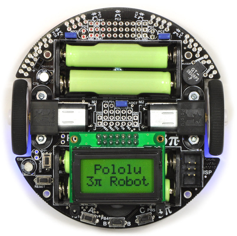 Pololu 3pi Robot - Chicago Electronic Distributors  - 6