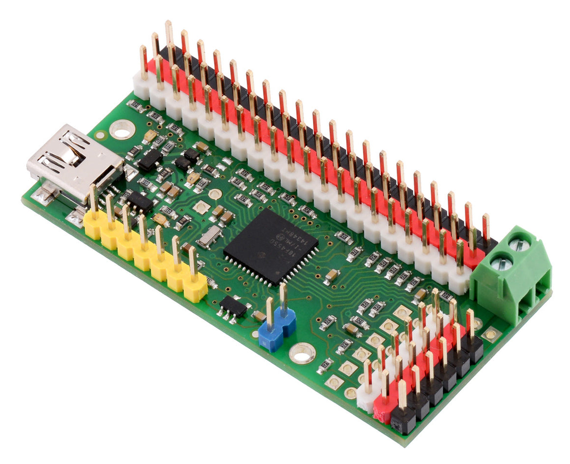 Mini Maestro 12-Channel USB Servo Controller (Assembled) - Chicago Electronic Distributors  - 18