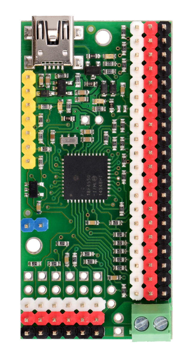 Micro Maestro 6-Channel USB Servo Controller (Assembled) - Chicago Electronic Distributors  - 6