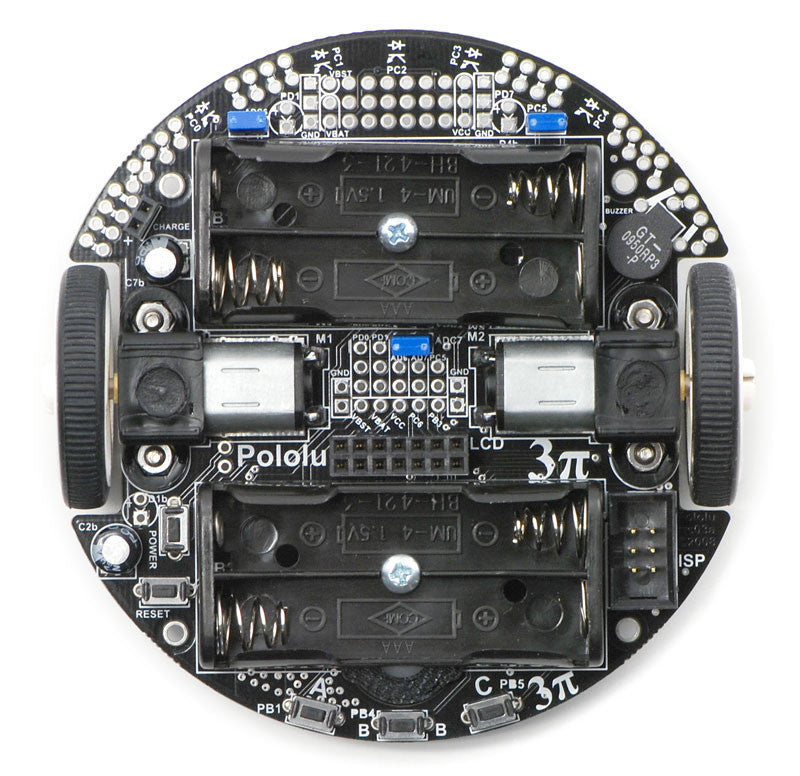 Pololu 3pi Robot - Chicago Electronic Distributors  - 5