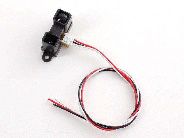 IR distance sensor includes cable (20cm-150cm) - Chicago Electronic Distributors