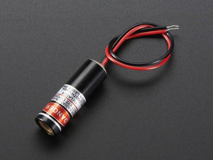 Line Laser Diode - 5mW 650nm Red - Chicago Electronic Distributors