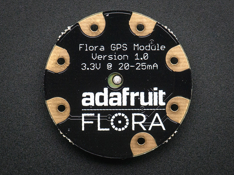Flora Wearable Ultimate GPS Module - Chicago Electronic Distributors  - 2