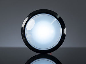 Massive Arcade Button with LED - 100mm White - Chicago Electronic Distributors