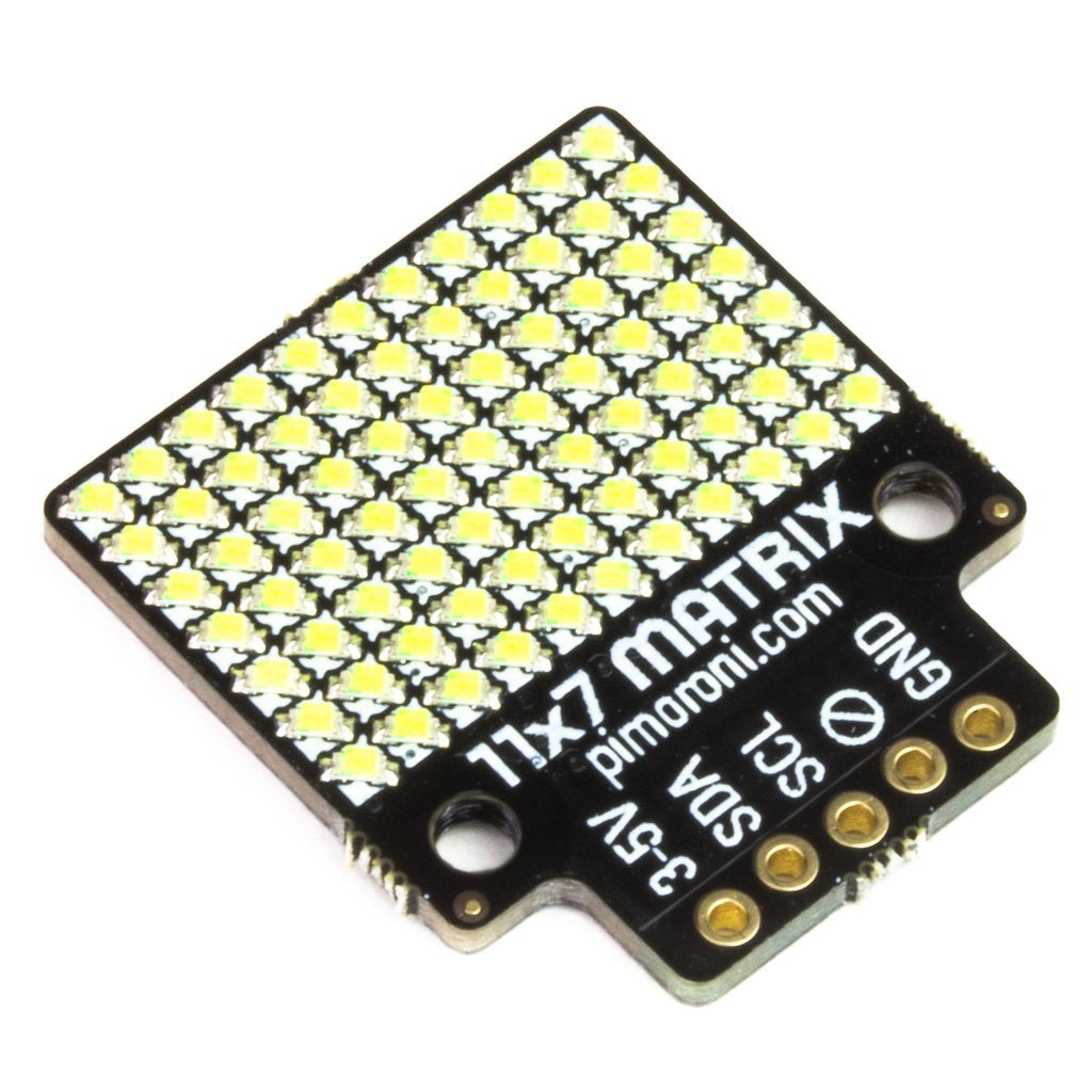 Pimoroni 11x7 LED Matrix Breakout