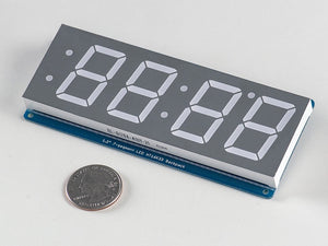 "Adafruit 1.2"" 4-Digit 7-Segment Display w/I2C Backpack - Yellow - Chicago Electronic Distributors  - 3"