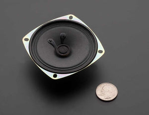 "Speaker - 3"" Diameter - 8 Ohm 1 Watt - Chicago Electronic Distributors  - 3"