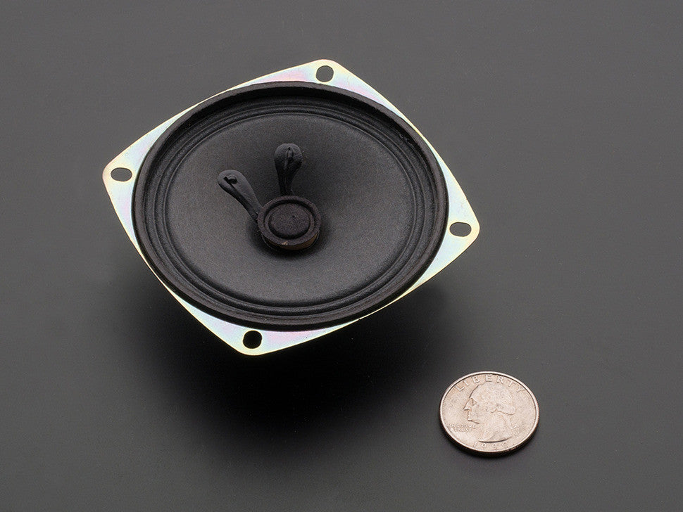 "Speaker - 3"" Diameter - 4 Ohm 3 Watt - Chicago Electronic Distributors  - 2"