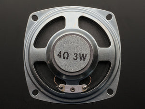 "Speaker - 3"" Diameter - 4 Ohm 3 Watt - Chicago Electronic Distributors  - 3"