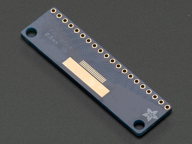 Adafruit FPC Stick - 20 Pin 0.5mm/1.0mm Pitch Adapter - Chicago Electronic Distributors