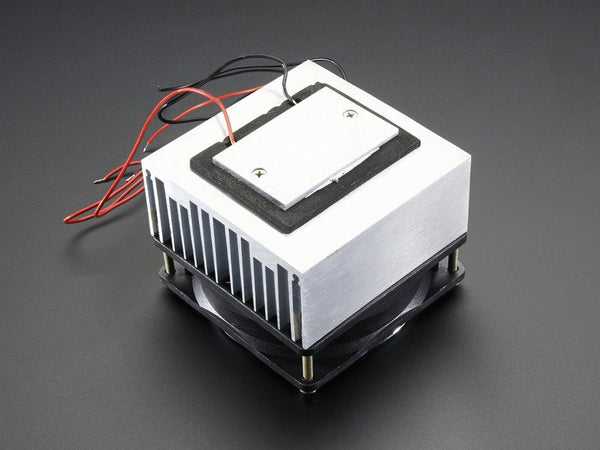Peltier Thermo-Electric Cooler Module+Heatsink Assembly - 12V 5A - Chicago Electronic Distributors  - 1