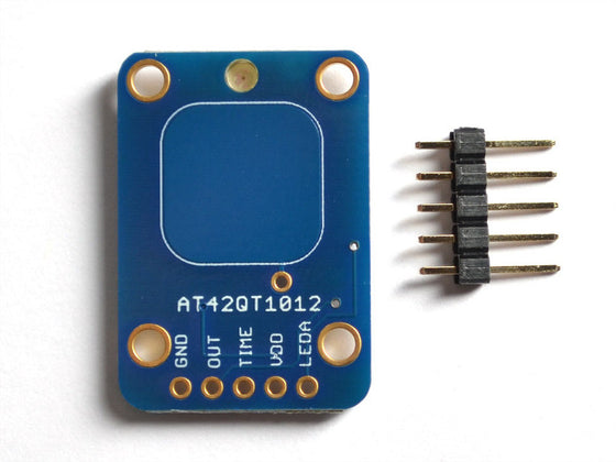 Standalone Toggle Capacitive Touch Sensor Breakout - AT42QT1012 - Chicago Electronic Distributors  - 1