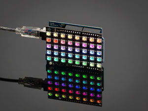 Adafruit NeoPixel Shield for Arduino - 40 RGB LED Pixel Matrix - Chicago Electronic Distributors  - 3