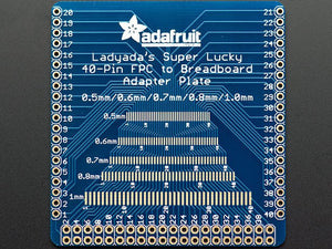 Adafruit Multi-pitch FPC Adapter - 40 Pin 0.5/0.6/0.7/0.8/1.0mm - Chicago Electronic Distributors
