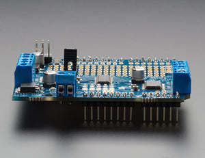Adafruit Motor/Stepper/Servo Shield for Arduino v2 Kit (v2.3) - Chicago Electronic Distributors  - 4
