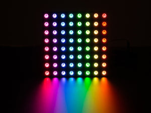 Adafruit Neopixel Neomatrix 8X8 - 64 RGB LED Pixel Matrix - Chicago Electronic Distributors  - 2