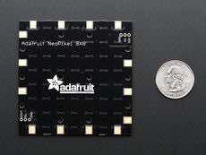 Adafruit Neopixel Neomatrix 8X8 - 64 RGB LED Pixel Matrix - Chicago Electronic Distributors  - 4